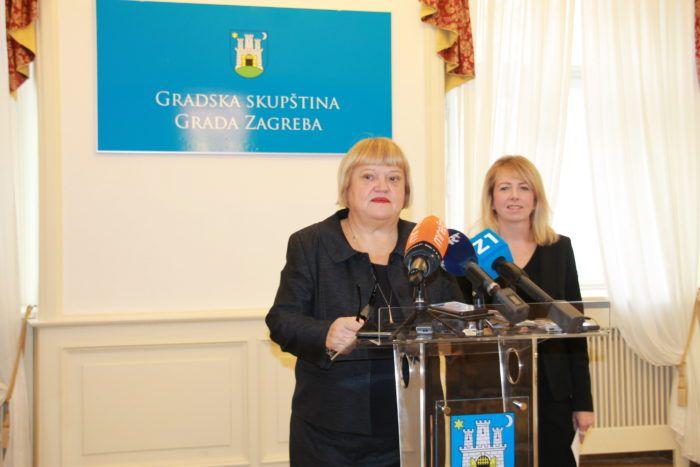 """Mrak-Taritaš: Iz izvršenja proračuna vidi se neefikasno trošenje gradskog novca ,razlog Bandićeva """"politička utrka"""""""