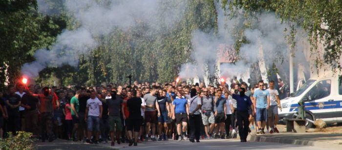 Zagrebačka policija u nedjelju spriječila novi veliki navijački sukob