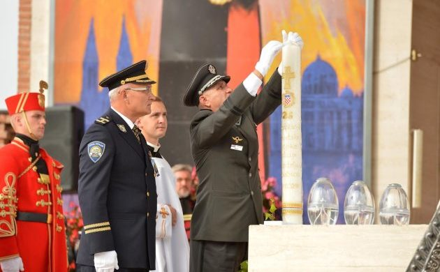 Hodočašće Hrvatske vojske, policije i branitelja u Mariju Bistricu