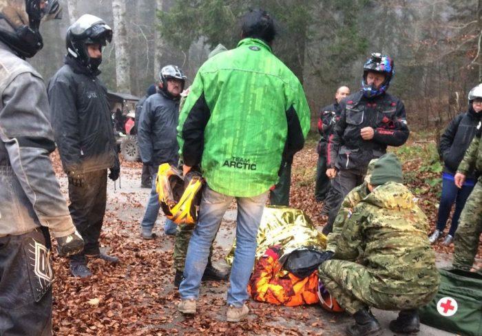 Pripadnici HV-a spasili ozlijeđenog francuskog turista na Velebitu