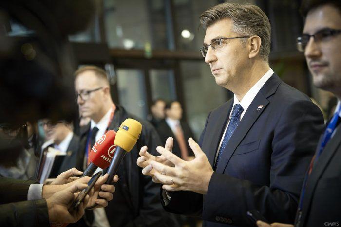 Plenković: Europska unija pokazala je visoki stupanj političke odgovornosti, iluzorno je očekivati neki bolji sporazum o Brexitu