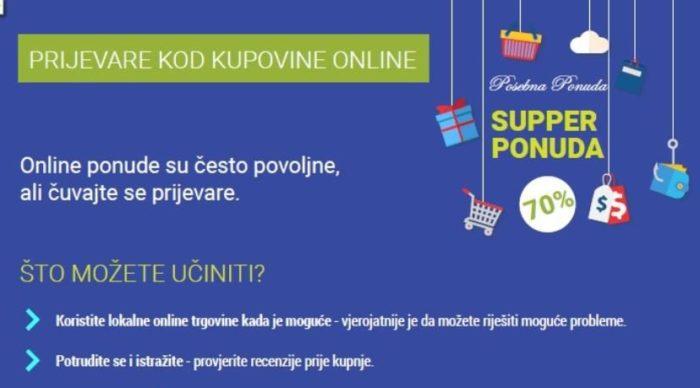 Uoči Crnog petka policija upozorava građane na prevare kod 'online' kupovine