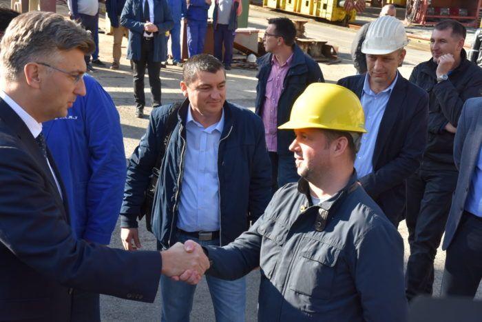 Plenković: Cilj Vlade pronaći održivo rješenje za brodogradilišta 3. Maj i Uljanik