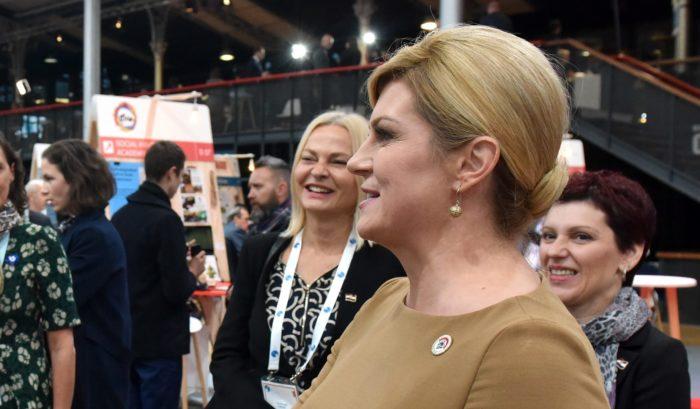 """Predsjednica Grabar-Kitarović o Marakeškoj deklaraciji: """"Ne znam tko pokušava, ali vidim da netko pokušava napraviti razdor između Vlade i mene"""""""