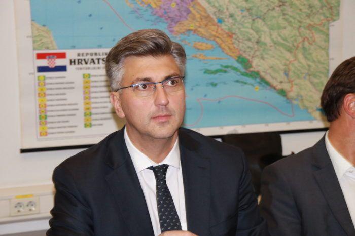 Premijer i šef HDZ-a Plenković: Stav vlade o Marakeškom dokumentu nije se promijenio, Hrvatska vrlo striktno sprječava nezakonite migracije