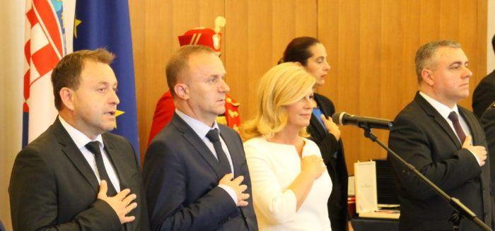 Predsjednica Republike Kolinda Grabar-Kitarović: Trebaju nam odlučne reforme, čak i po cijenu gubitka izbora