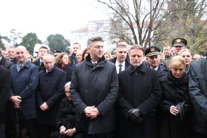 VUKOVAR – Jandroković: Poruka svijetu da je rat najgore rješenje sukoba