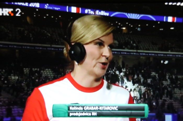 Predsjednica Grabar-Kitarović: Čestitke Borni, vjerujem da večeras može biti 2-0