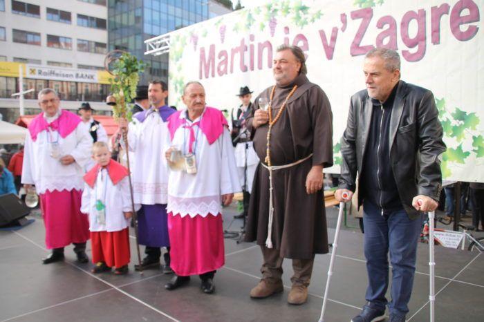 """Na Trgu bana Jelačića održana je tradicionalna manifestacija """"Martin je v Zagrebu"""""""