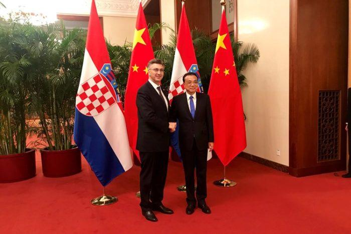 Hrvatski premijer Plenković nakon sastanka s Lijem: Kina pokazuje zanimanje za ulaganja u RH