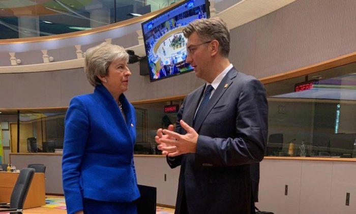 Hrvatski premijer Plenković kaže da će brexit najviše pogoditi Britaniju