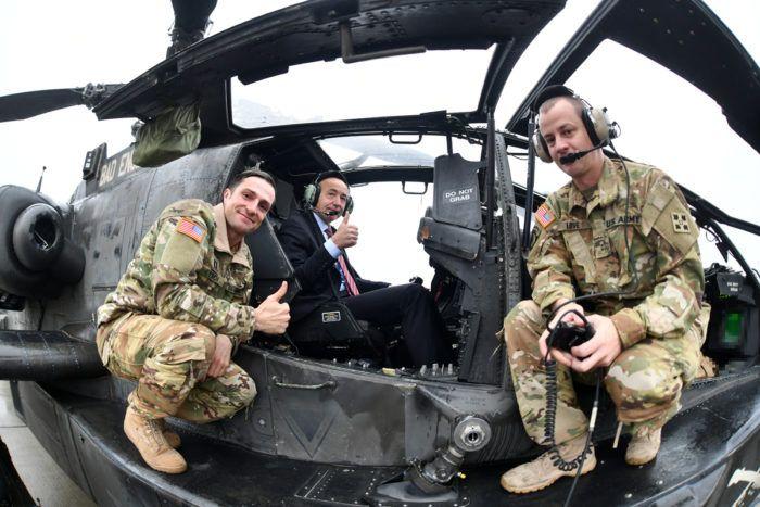 Američki borbeni helikopteri na Plesu – Krstičević: SAD je ključni partner i saveznik Hrvatske na području obrane