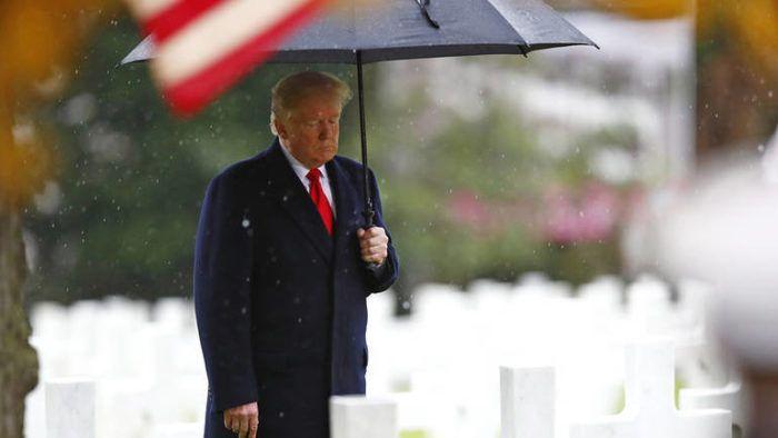 Trump odao počast hrabrim Amerikancima koji su poginuli u Prvom svjetskom ratu