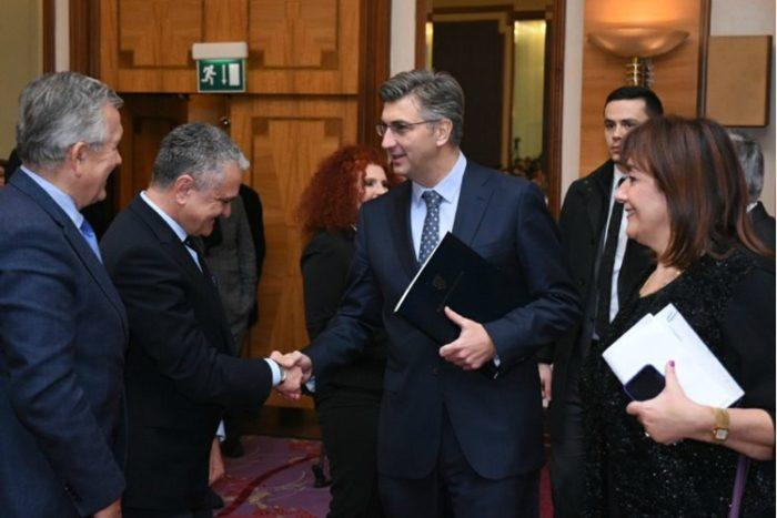 """Plenković: Na Vijeću za nacionalnu sigurnost spomenuta """"afera SMS"""""""