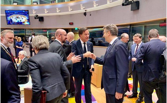 Premijer Andrej Plenković kaže da bi hrvatsko predsjedanje EU-om moglo biti prva prigoda za iskorak u proširenju