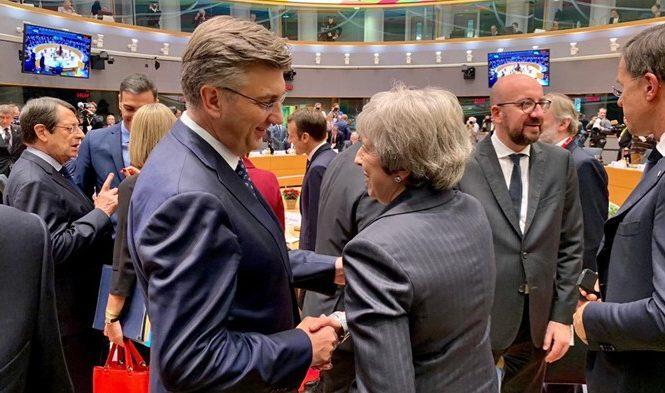 Hrvatski premijer Andrej Plenković kaže da je EU uputio Britaniji poruku dobre volje