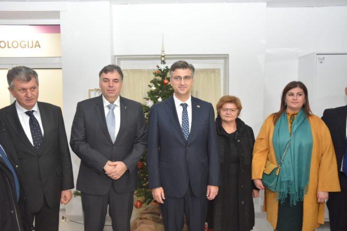 Plenković: Modernizacija u Karlovačkoj bolnici financirana 85 posto sredstvima EU