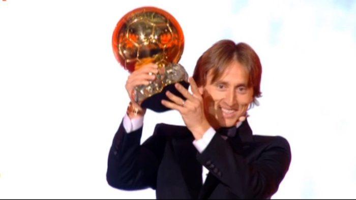 Luka Modrić osvojio 'Zlatnu loptu'