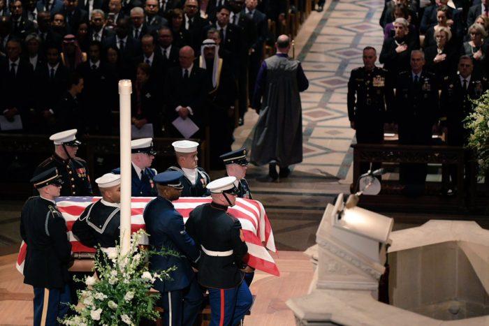 """Ujedinjena Amerika ispratila predsjednika Busha starijeg – Trump:""""Ovo nije pokop, ovo je dan proslave za velikana koji je proživio izniman život. Nedostajat će nam!"""""""