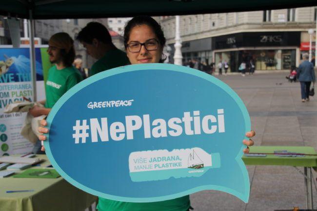 Zelena akcija i Greenpeace pozdravljaju dogovor EU o prestanku korištenja jednokratne plastike