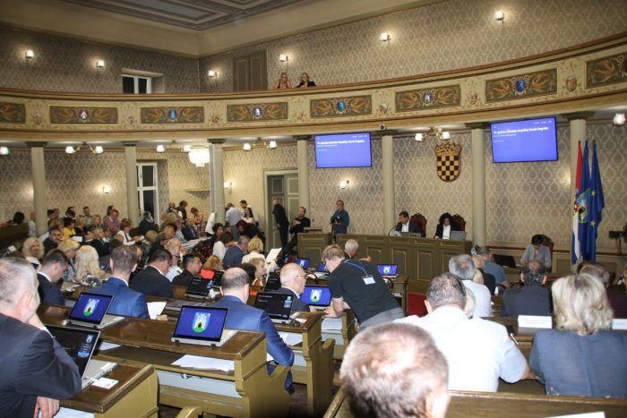 Zastupnici zagrebačke Gradske skupštine odlučuju hoće li prihvatiti proračun Grada Zagreba za 2019.