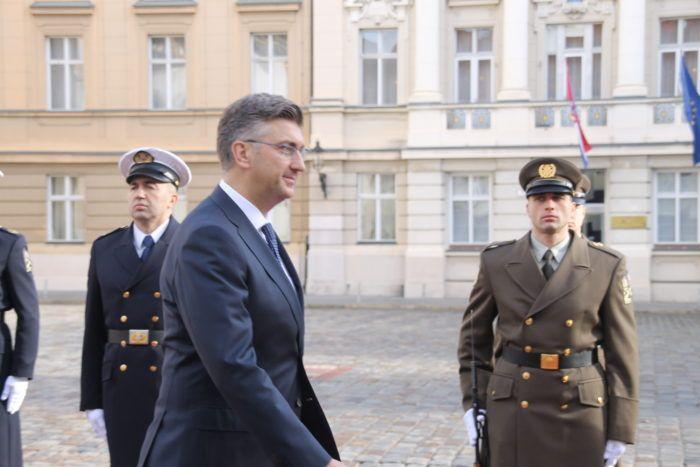Premijer Andrej Plenković na SEI-ju osudio rusku akciju u Kerčkom tjesnacu