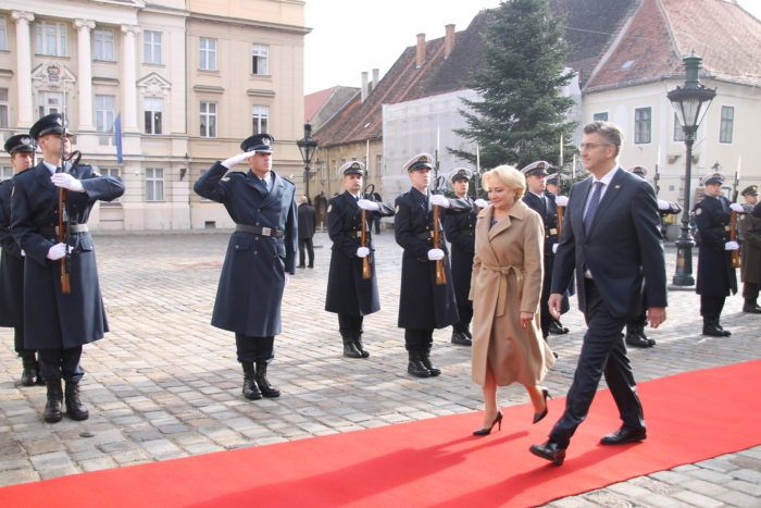 Premijer Andrej Plenković i rumunjska kolegica Dancila najavili jačanje suradnje