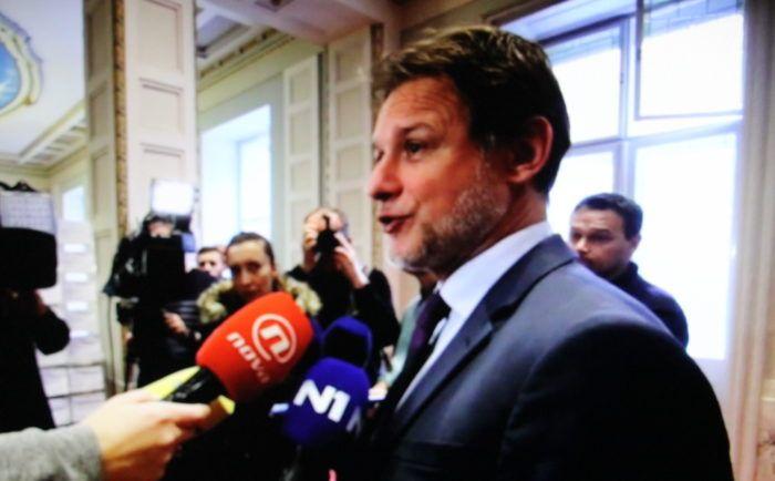 Jandroković nakon sjednice VNS-a: Nužna dobra suradnja premijera Plenkovića i predsjednice Grabar-Kitarović