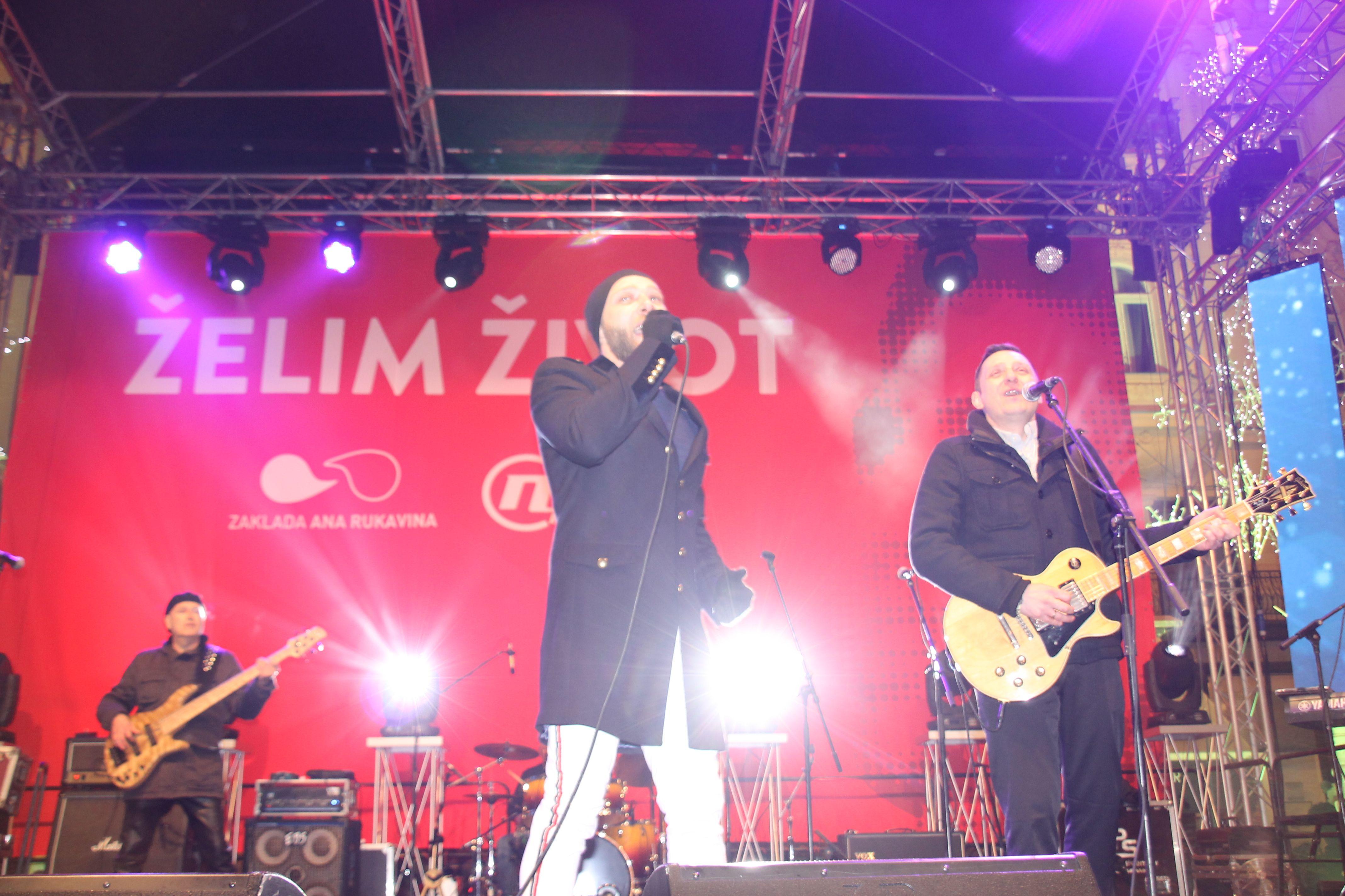 """Na koncertu """"Želim život"""" prikupljeno 1,45 milijuna kuna za Zakladu """"Ana Rukavina"""""""