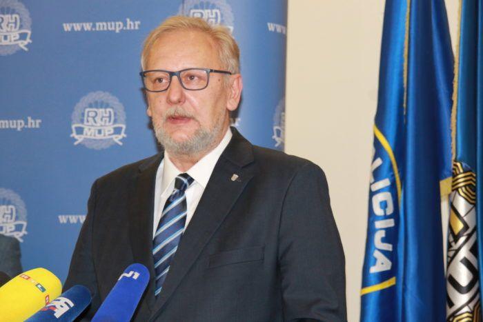 Božinović: Policiji nije prijavljena nikakva prijetnja Radeljiću