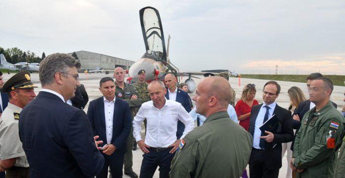 Krstičević: Hrvatska neće imati dodatne troškove prilikom kupnje borbenih aviona