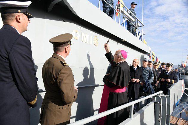 """HRM ima novi obalni ophodni brod """"Omiš"""""""