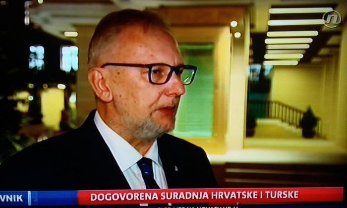 Božinović: Turska je zbog zbrinjavanja izbjeglica strateški partner Hrvatske i EU