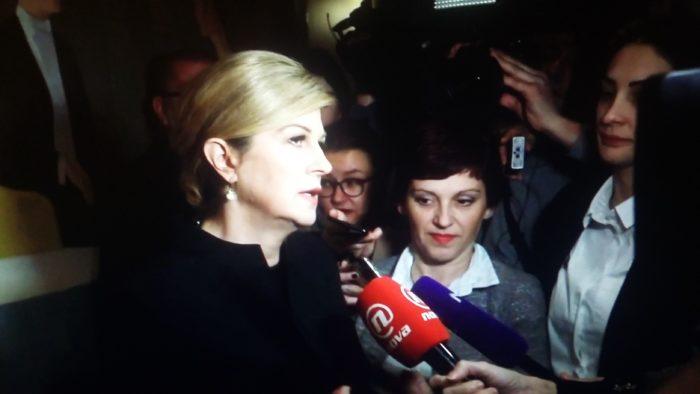 Predsjednica Republike Grabar-Kitarović o nabavi zrakoplova: Nije izgubljeno ništa, a pogotovo nije izgubljen međunarodni ugled Hrvatske