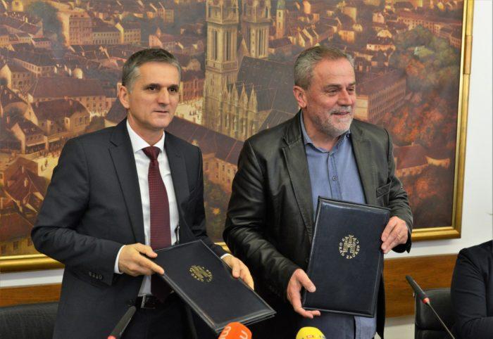 Ministar Goran Marić i Bandić potpisali ugovor o darovanju državnog zemljišta za izgradnju sljemenske žičare
