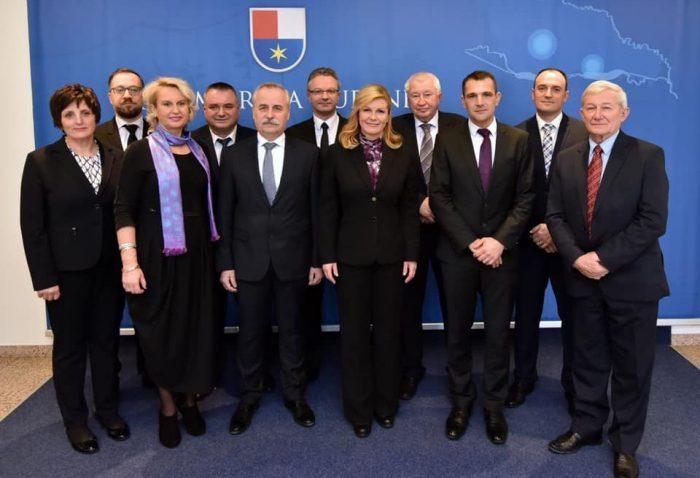 U Čakovcu prijam predsjednice u povodu 27. obljetnice međunarodnog priznanja Hrvatske i 100 godina od pripojenja Međimurja