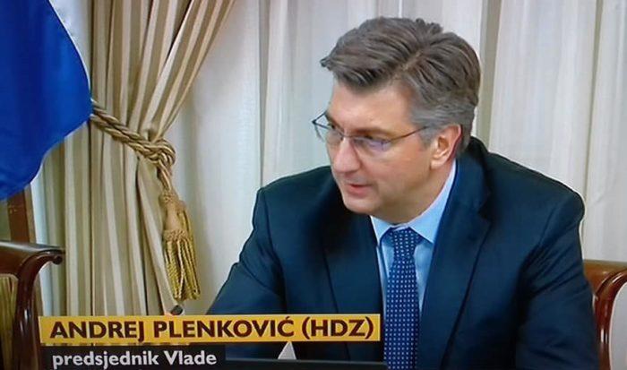 """Plenković: """"Slučaj Tolušić"""" do sada najpodmukliji pokušaj destabilizacije Vlade"""