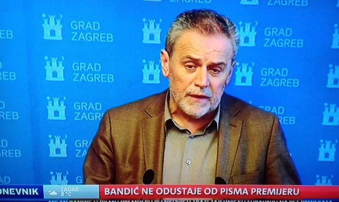 Bandić poručio da je njegova razina komunikacije premijer Plenković, a nikako predsjednik Sabora Jandroković