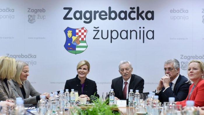 """Predsjednica Grabar-Kitarović: Ključno je zajedništvo u ostvarenju strateških """"nacionalnih ciljeva"""""""