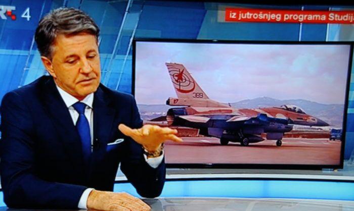 Zubak u Studiju HRT-a: Alternativa su Amerikanci, treba kupiti nove F-16, ovo nije dobro što se radilo, ali hvala medijima koji su odigrali veliku ulogu