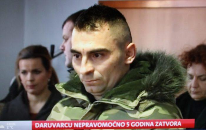 """Darko Kovačević """"Daruvarac"""" nepravomoćno osuđen na pet godina bezuvjetnog zatvora"""