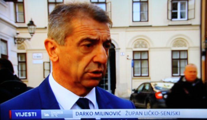 Župan Ličko-senjske županije i bivši član HDZ-a Milinović: Ne želim gradonačelniku Vukovara Penavi moju sudbinu