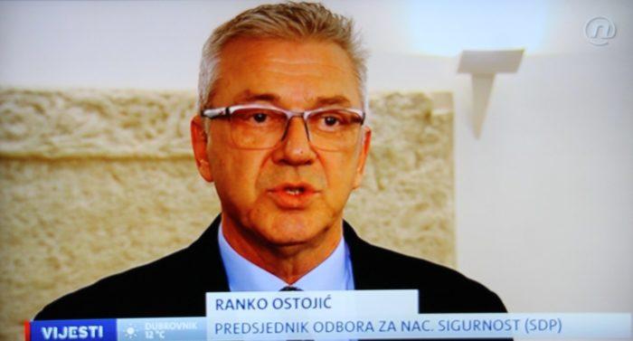 Ostojić: 'Slučaj Radeljić' za Odbor je završen