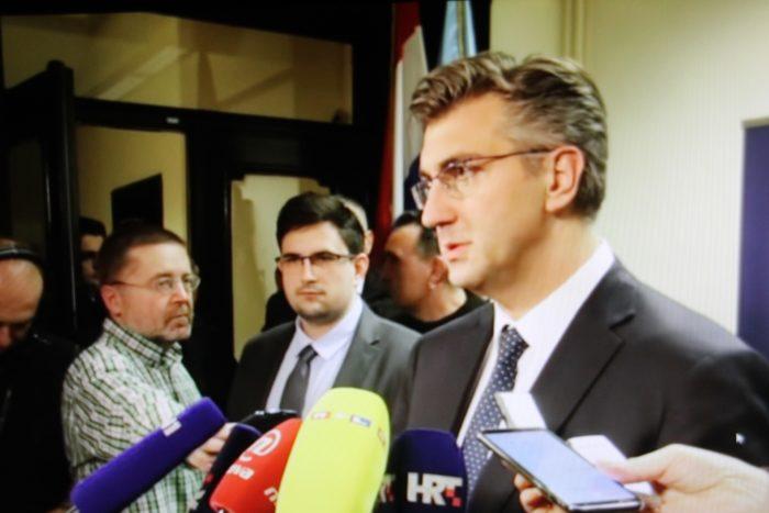 """Šef HDZ-a Plenković: """"Penava nije nadležan za vođenje politike HDZ-a. U njegovoj nadležnosti su nadležnosti koje se tiču Grada Vukovara"""""""