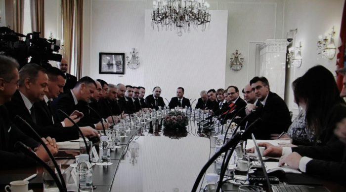 Plenković županima: Otvoreni smo za sugestije o prijedlogu nove statističke klasifikacije prostornih jedinica
