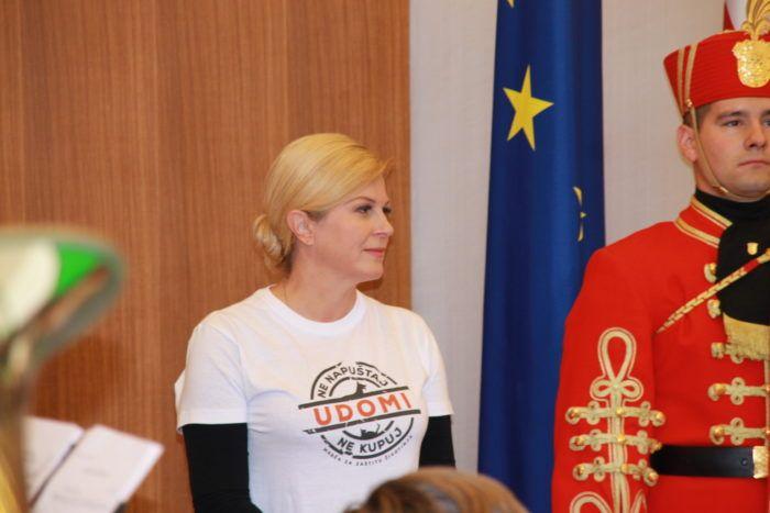 Predsjednica Republike Grabar-Kitarović u Zagrebačkoj županiji od 23. do 25. siječnja