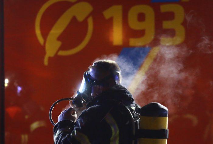 Ugašen požar skladišta građevinskog materijala u zapadnom dijelu Zagreba