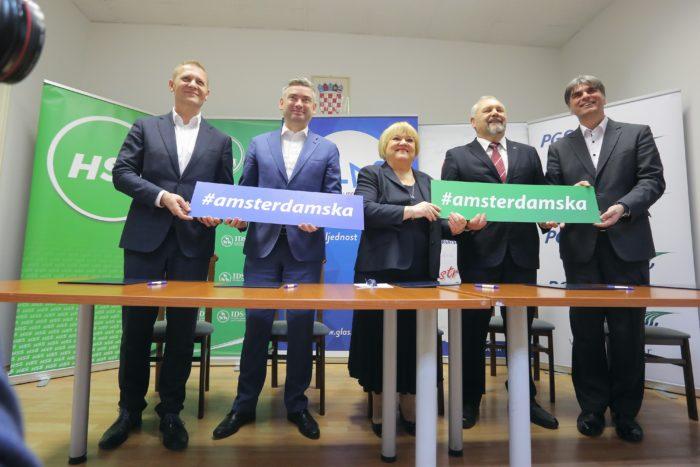 HSU potpisao sporazum o priključenju Amsterdamskoj koaliciji