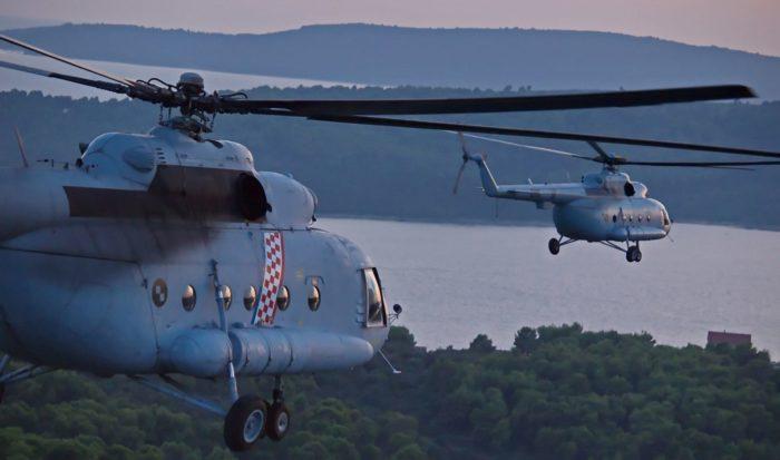 Vojni helikopteri u godinu dana prevezli 885 pacijenata