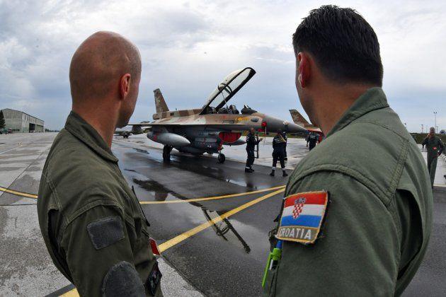Izraelski dužnosnici u srijedu dolaze u Zagreb ispričati se zbog problema s F-16 Barak vojnim zrakoplovima